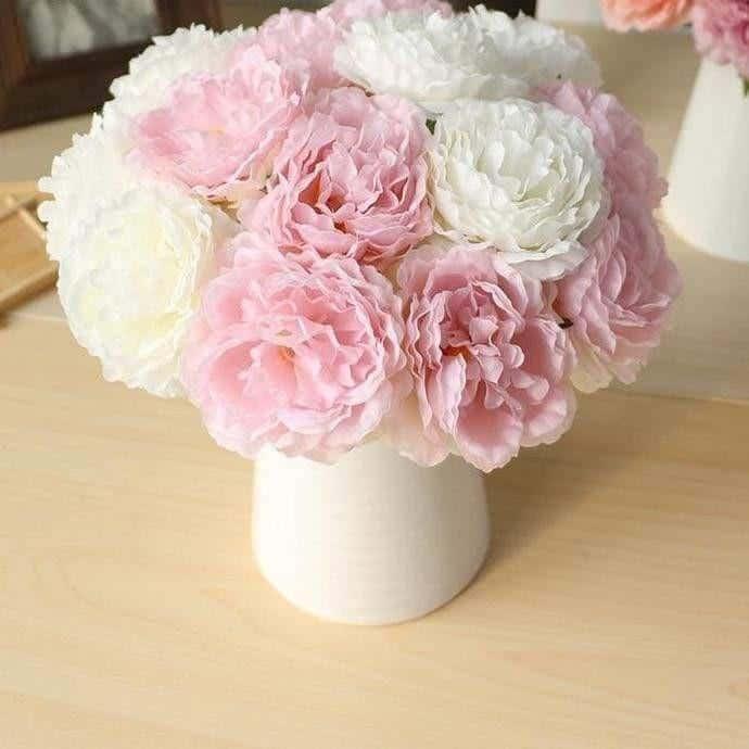 Wedding Poeny by Jasmine Bergmann Artificial Flowers