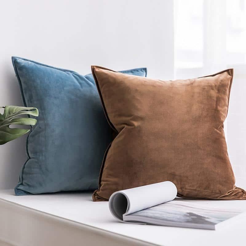 Confidence   Navy Blue   Celiné Cushion Pillow