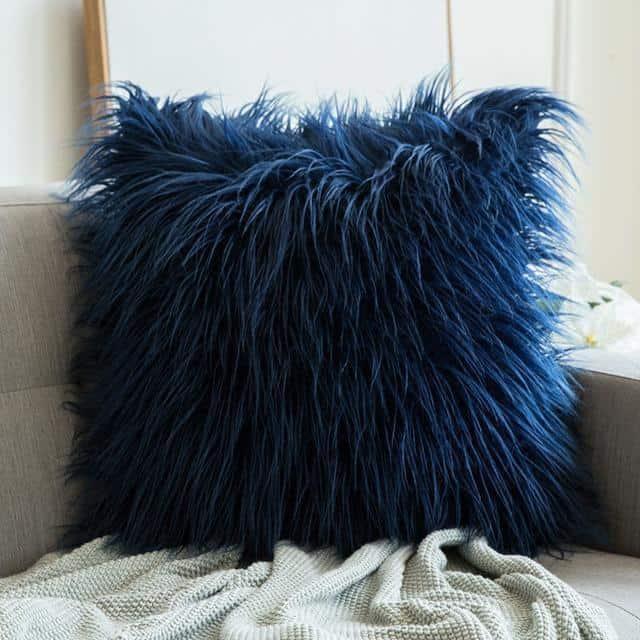 Comfy Fluffy Faux Celiné Cushion