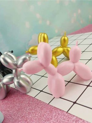 Balloon Dog Sculpture – Premium Decor
