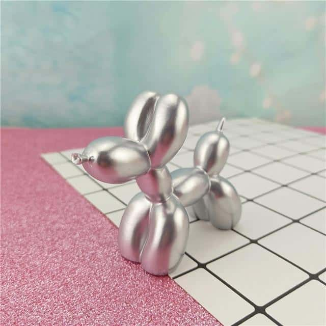 Smooth Brownie by Hannes Malmström Sculpture Shiny Silver