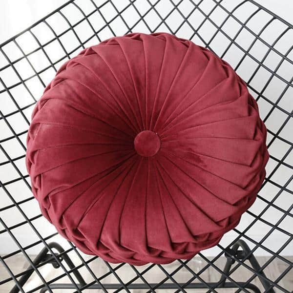 A large red umbrella