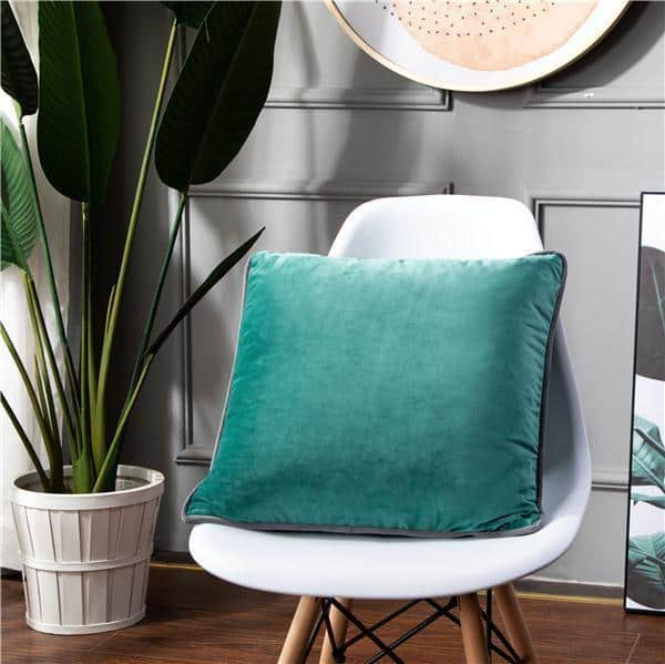 Smooth Style Lux Pillowcase Pillow 60x60cm / Mint