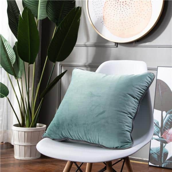 Smooth Style Lux Pillowcase Pillow 60x60cm / Light Mint