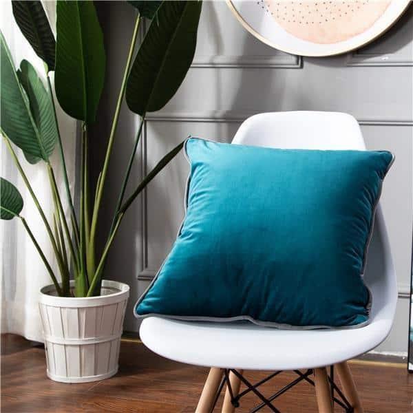 Smooth Style Lux Pillowcase Pillow 60x60cm / Dark Mint