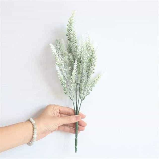 Flowers of Provence by Una Hubmann Artificial Flowers Snow White
