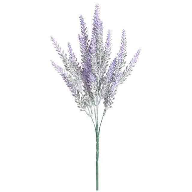 Flowers of Provence by Una Hubmann Artificial Flowers Light Purple