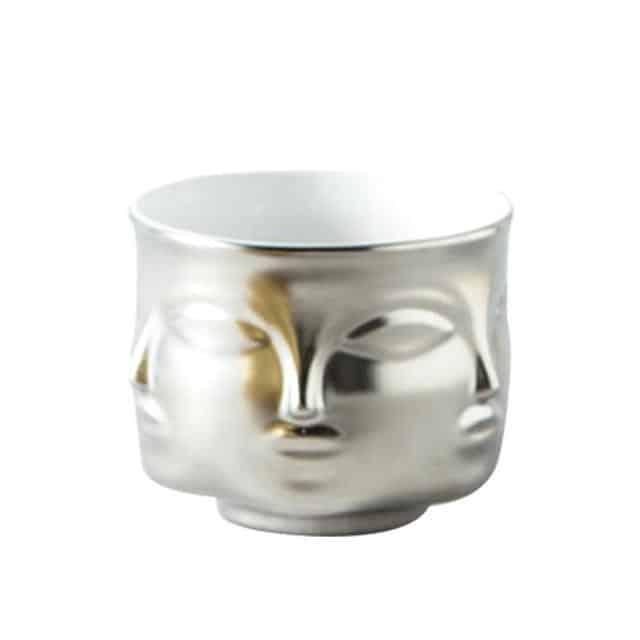 Rubin's Exploration Abstract Vase/Pot Vase Sliver
