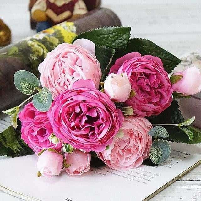 Rose Poems by Marie Davidsson Artificial Flowers Beautiful Mix