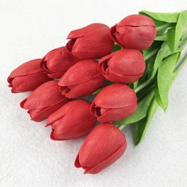 Fantasy by Hannes Malmström Artificial Flowers Red / Regular - 11pcs