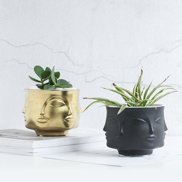 Rubin's Exploration Abstract Vase/Pot