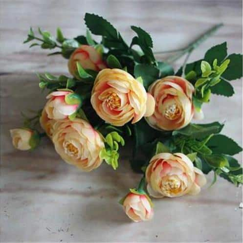 Peony Flowers by Hannes Malmström Artificial Flowers Peach
