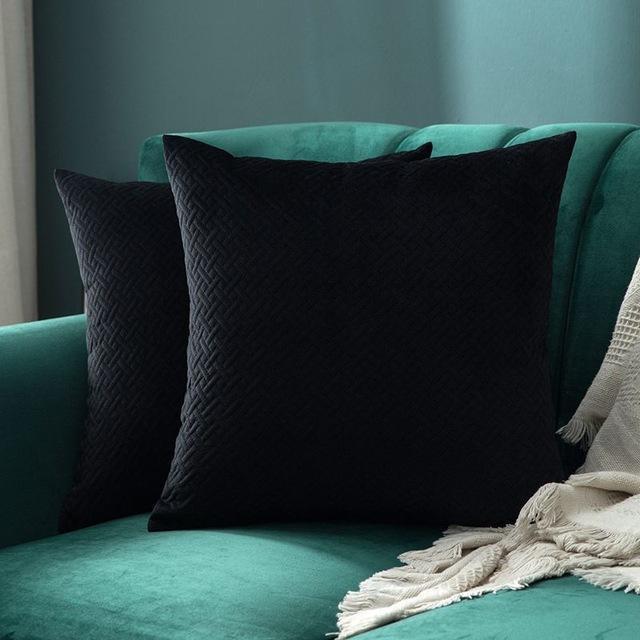 Luxe by Celiné / Pillowcase Pillow Black
