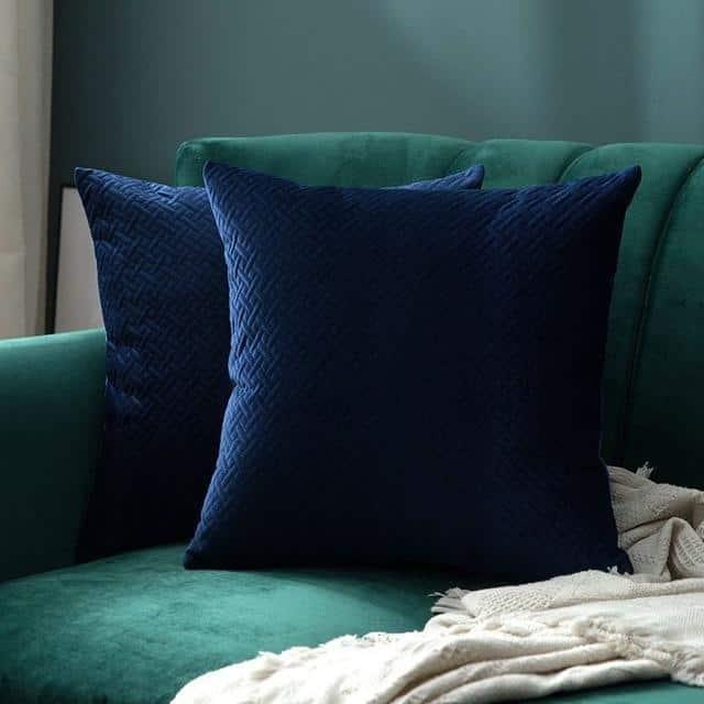 Luxe by Celiné / Pillowcase Pillow Dark Blue