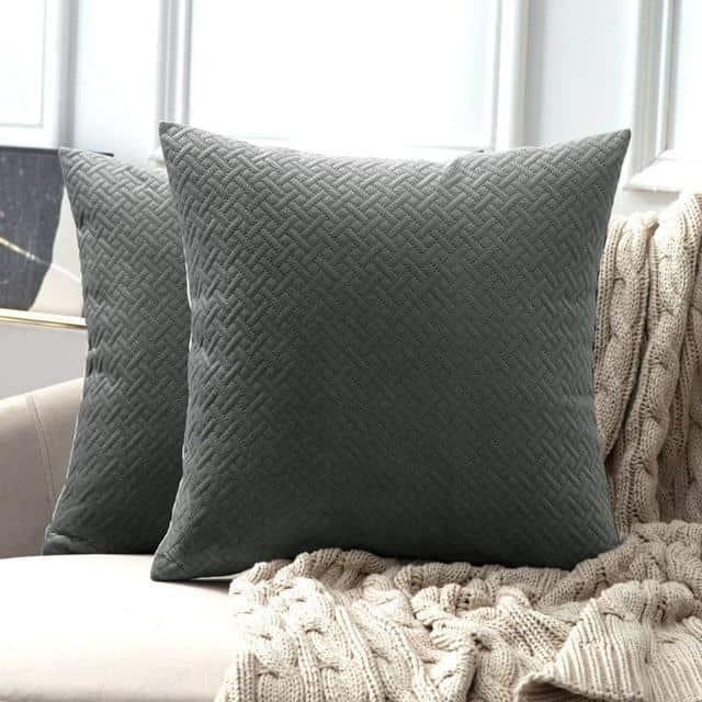 Luxe by Celiné / Pillowcase Pillow Grey