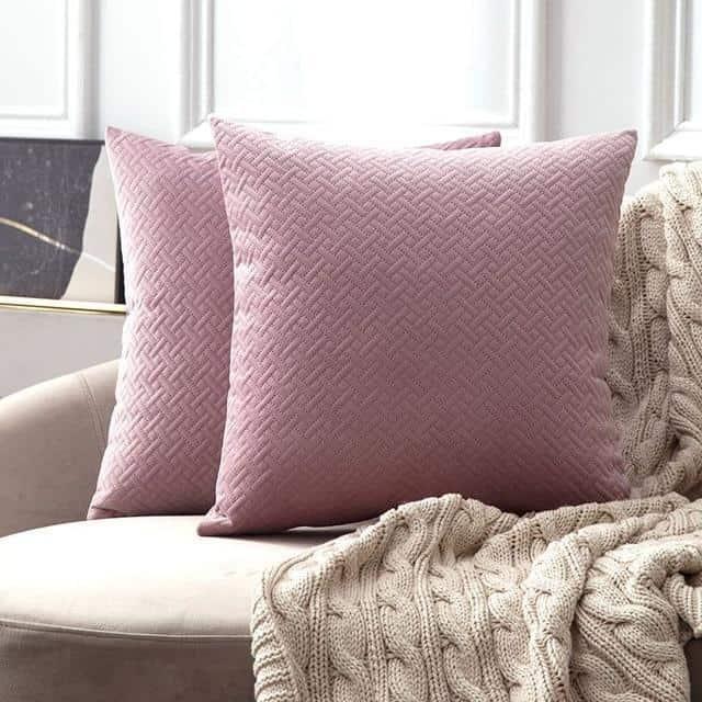 Luxe by Celiné / Pillowcase Pillow Pink Purple