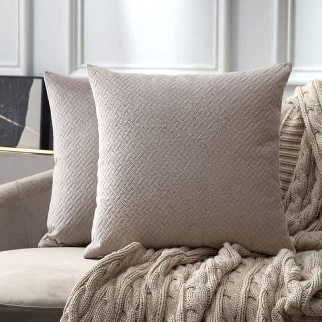 Luxe by Celiné / Pillowcase Pillow Heart Wood