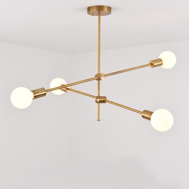 Nordic Progressive Massive Pendant Light Pendant lighting 4 heads