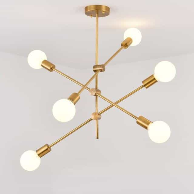 Nordic Progressive Massive Pendant Light Pendant lighting 6 heads