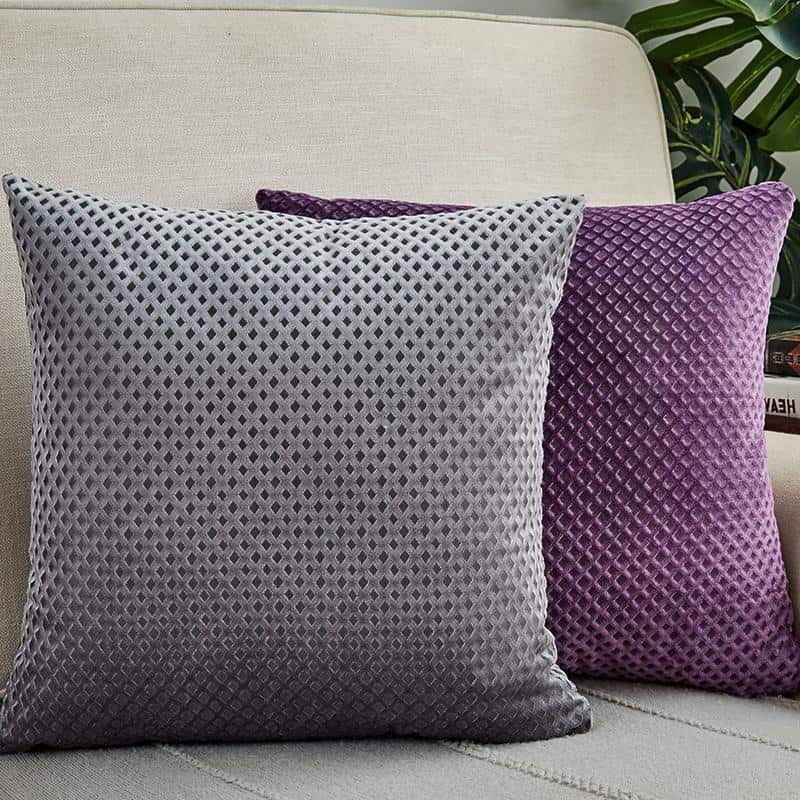 Geometric Celiné | Embroidery Cushion Pillow