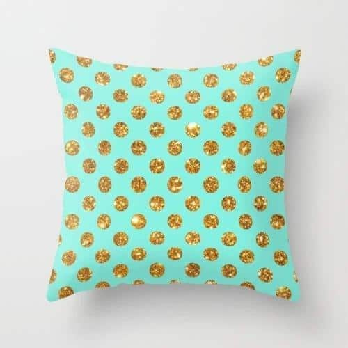 Nua Polka Celiné Cushion Pillow 24x24 inch