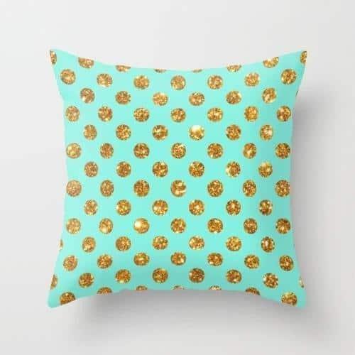 Nua Polka Celiné Cushion Pillow 24x24 inch