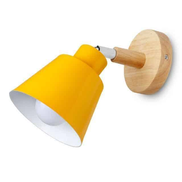 Munich Stabilo Wall lamp Yellow