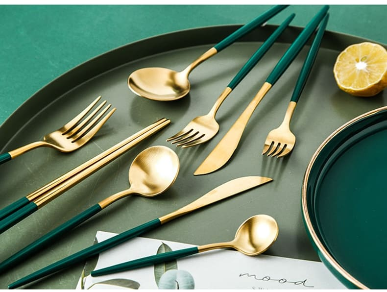 Small Forks by Rosseta | Gold and Silver