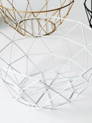 Spider Wire Basket / Storage Basket